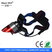 rechargeable waterproof removable led head light head lamp for bike cycling