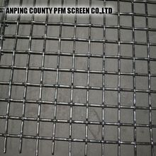Ss Stainless Crimped Wire Mesh Floor For Tesh Sieve