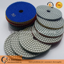 4 inch 100mm diamond polishing disc, polishing abrasive pad for angle grinder