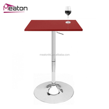 European modern style coffee bar metal console dining table