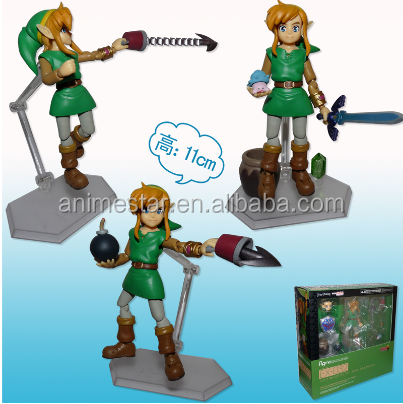 World of Nintendo The Legend Of Zelda link Anime Figure 11cm