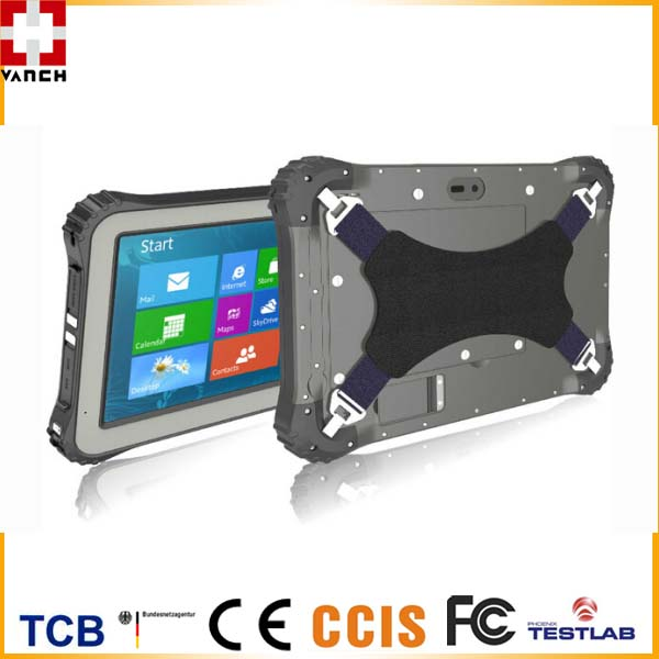 Rugged Waterproof RFID Tablet with Optional Windows 10/Android 4.4 OS
