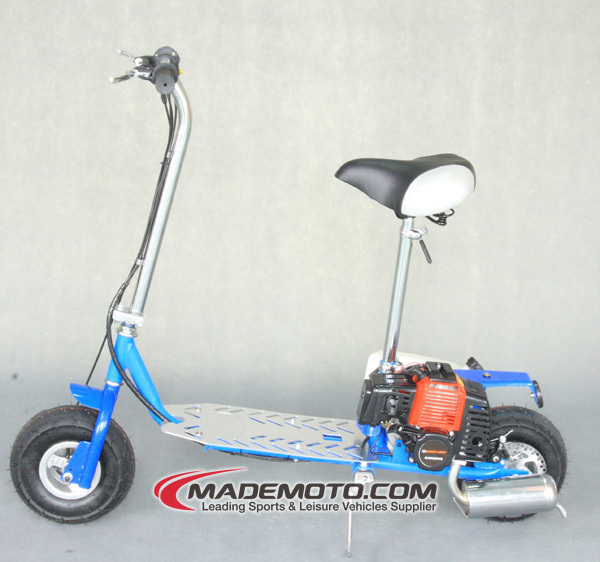 Outdoor Cheap Foldable Gas Powered Scooter Gasoline Motor Scooter