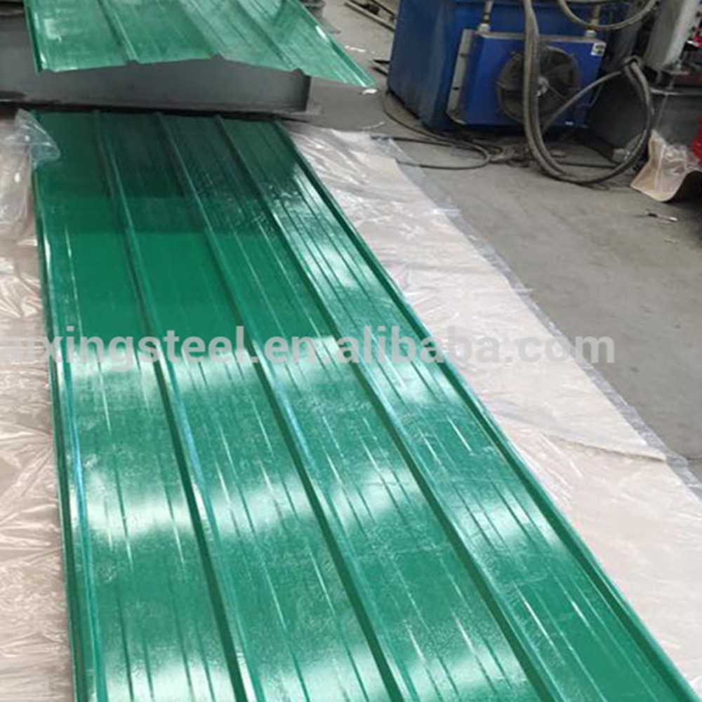 China corrugated colored steel sheets/prepainted metal roof /roofing tile
