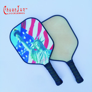 USAPA10mm 13mm 16mm aluminum core glass fibre pickleball paddle polymer china pickleball paddle