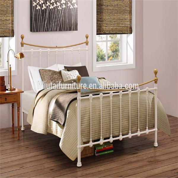 new iron double bed design