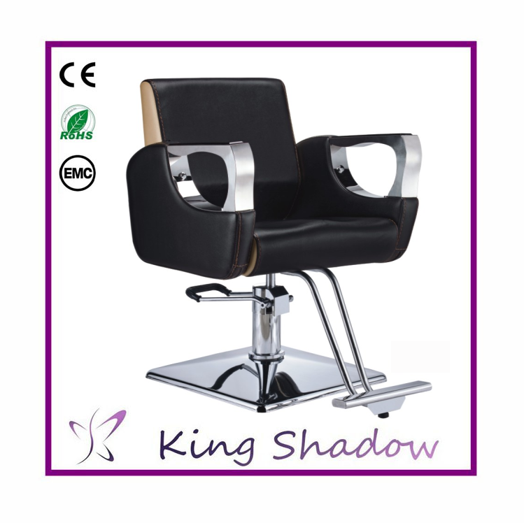 Cheap salon styling stations chair barber coiffeur for Portable beauty chair