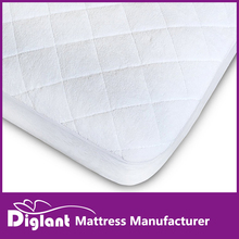 Waterproof Crib Mattress Pad with Free Bonus - Quilted Bamboo Cover is Best For Protecting Your Baby Mattress From Accidents whi