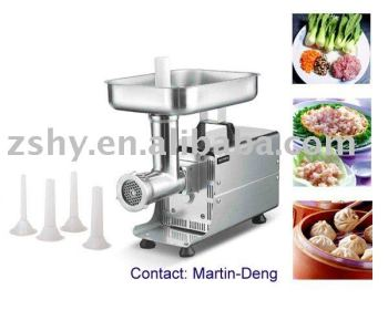 S/S commercial kitchen meat mincer (CE approved)