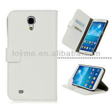 WHITE PROTECTIVE LEATHER WALLET CASE COVER FOR SAMSUNG GALAXY MEGA 6.3 I9200