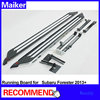 Aluminium alloy Running board For Subaru Forester 2013+ side step bar running board from Maiker