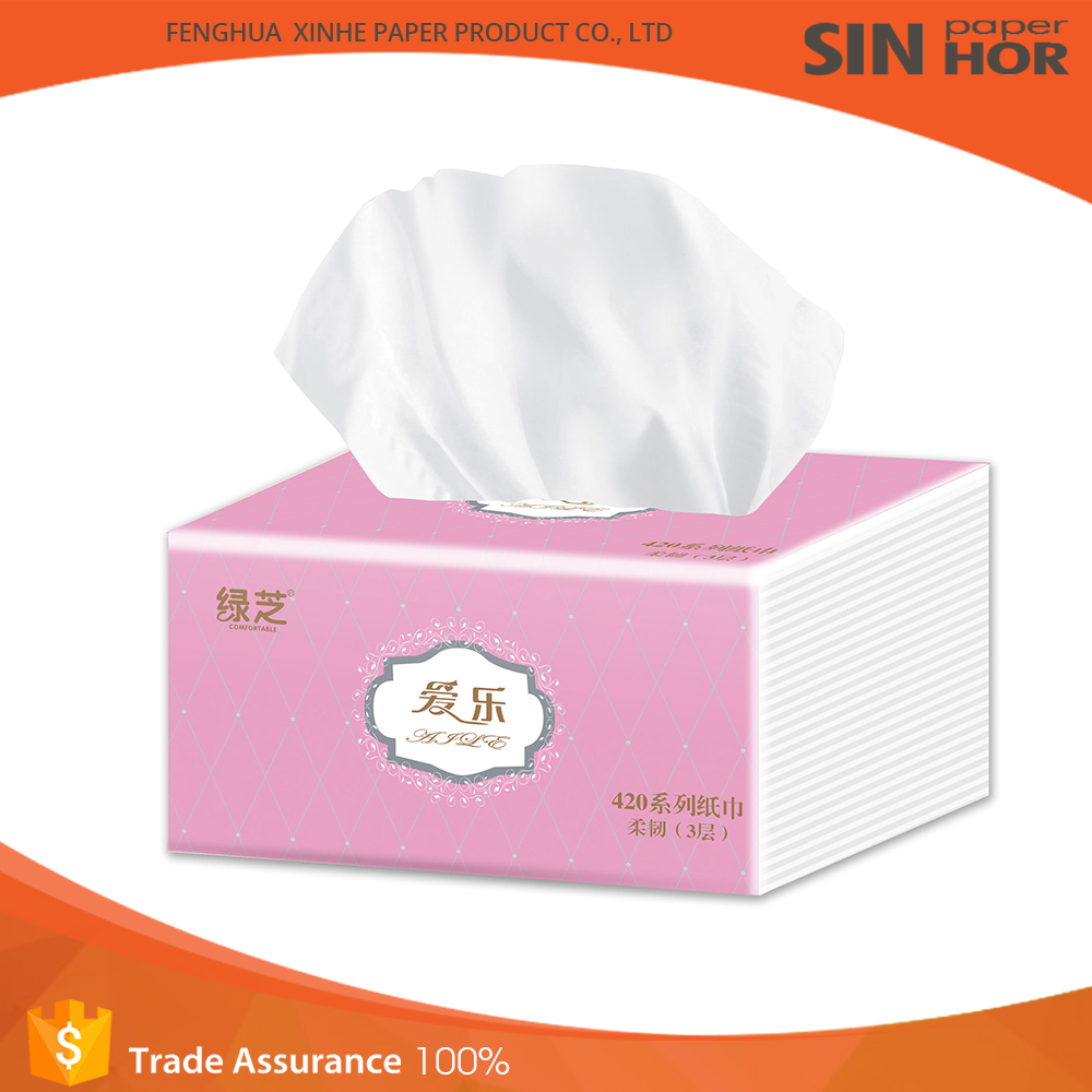 2016 most popular facial toilet tissue paper with high quality