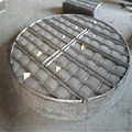 Stainless steel demister pads with knitted mesh for filters