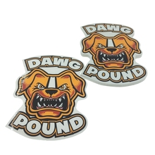 Excellent die cut decal,adhesive die cut stickers
