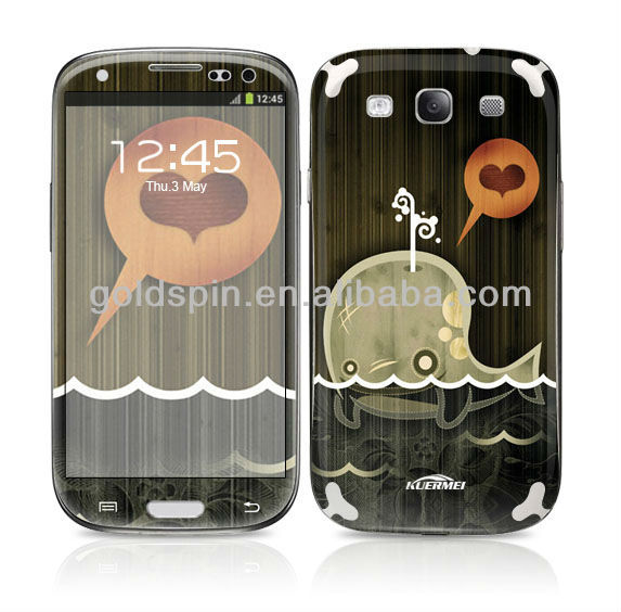 Fashionable!!! Front and Back Color Screen Protector For Samsung Galaxy S3