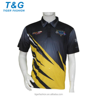 100% polyester racing pit crew shirts