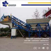 2017 factory supply YHZS 25 m3/h mobile concrete mixing plant, mini mobile small concrete batching plant for sale