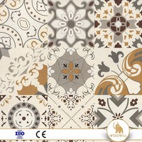 Factory direct rustic tile porcelain 600x600mm look tiles with low price