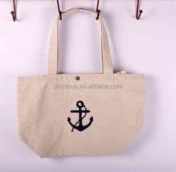 summer use casual canvas tote Bag For shopping women handbag beach bag