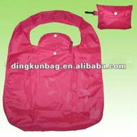 Newest Fashion Reusable Nylon foldable shopping bag