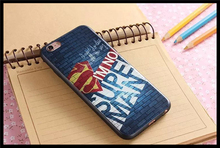 batman vs Superman: Dawn of Justice Design Rubber TPU Case Superman poster for iPhone 6 Plus/iPhone 6s