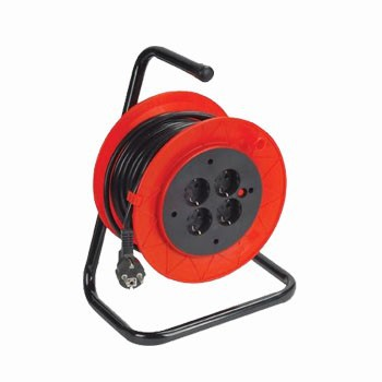 220v european extension cable reel