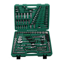 "150pcs auto repair socket set,socket metric tools,hand tools 1/4"" 1/2"" 3/8"""