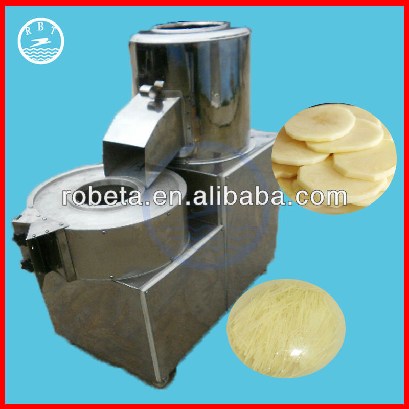 Hot sale 300kg/h capacity of potato curly fry cutter
