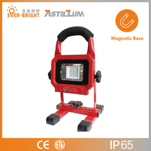 High Lumen Battery Powered LED Work Light with Magnetic Base