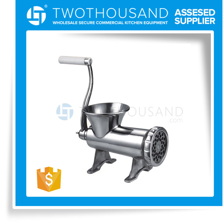 2017 Manufacturer of Manual Meat Mincer Machine from Hand Operated Meat Mincer Supplier, S/S, TT-MM22