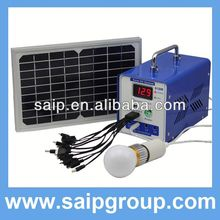 Newest high quality portable wind solar hybrid power system,mini solar generators for home