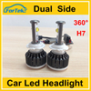 Auto h7 55w led headlight
