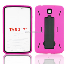 Robot design rugged case for Samsung Galaxy Tab 3 7.0 P3200
