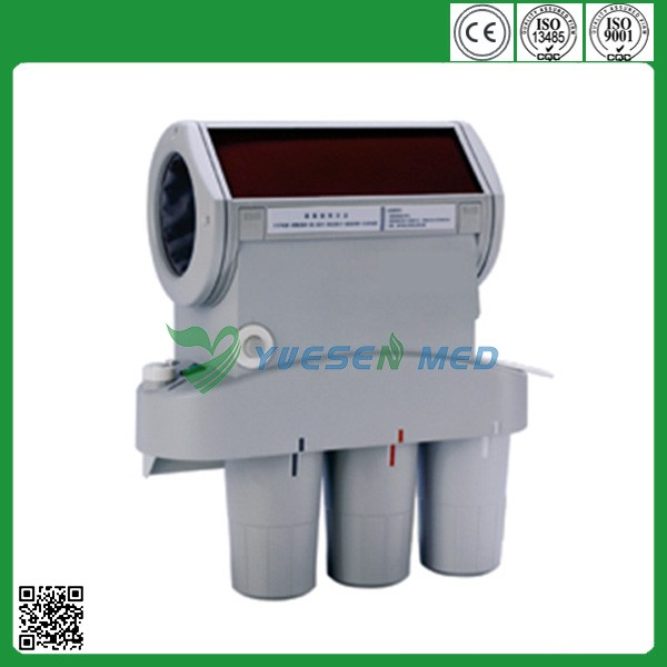 Bright-room operation automatic dental x-ray film processor