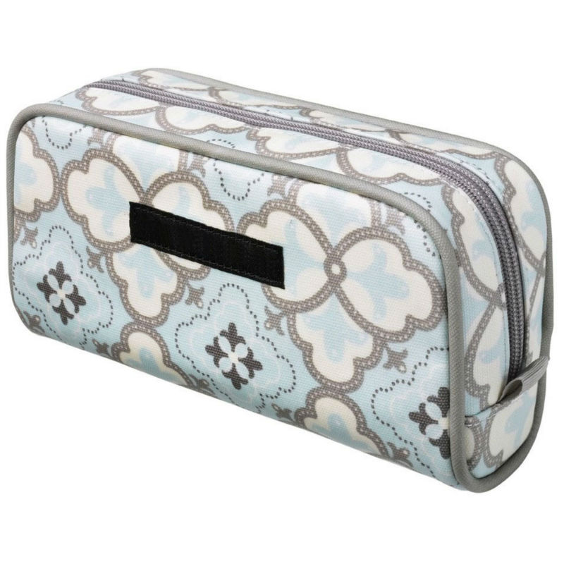 Classic matt coated canvas cosmetic case