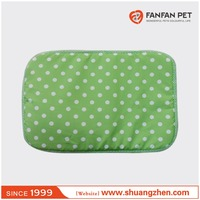 Custom Promotional Small Plush Pet Dog Puppy Cat Polka Dot Bed House Cushion