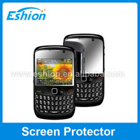 Mirror screen protector For BlackBerry Curve 8520 screen shield new arrival