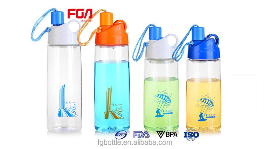 650 ml Plastic sports bottle