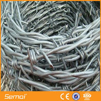 Galvanized Barbed Wire Fence (Anping Factory)