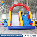 Outdoor inflatable water slide family time inflatable slide with pool combo