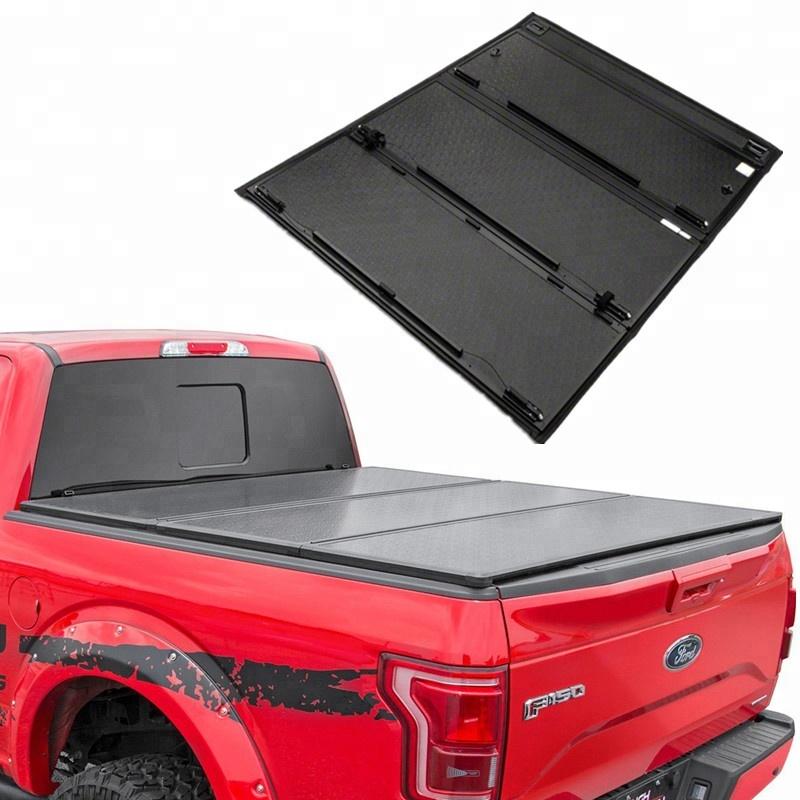Isuzu Dmax Pro Pli dur Tri Fold tonneau cover Aluminium Lit Pliant Couverture D//C