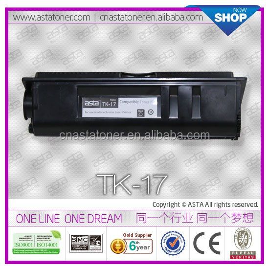 Original quality ASTA toner kit TK17 for kyocera copier
