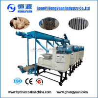 jute sticks charcoal briquette making machine