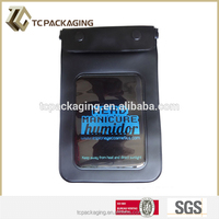 TC C140142 cell phone waterproof zipper bag punching bag stand