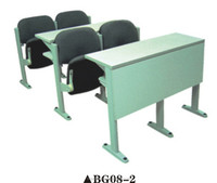 High school furniture classroom chair and table; used school furniture plastic table and chairs BG08-2