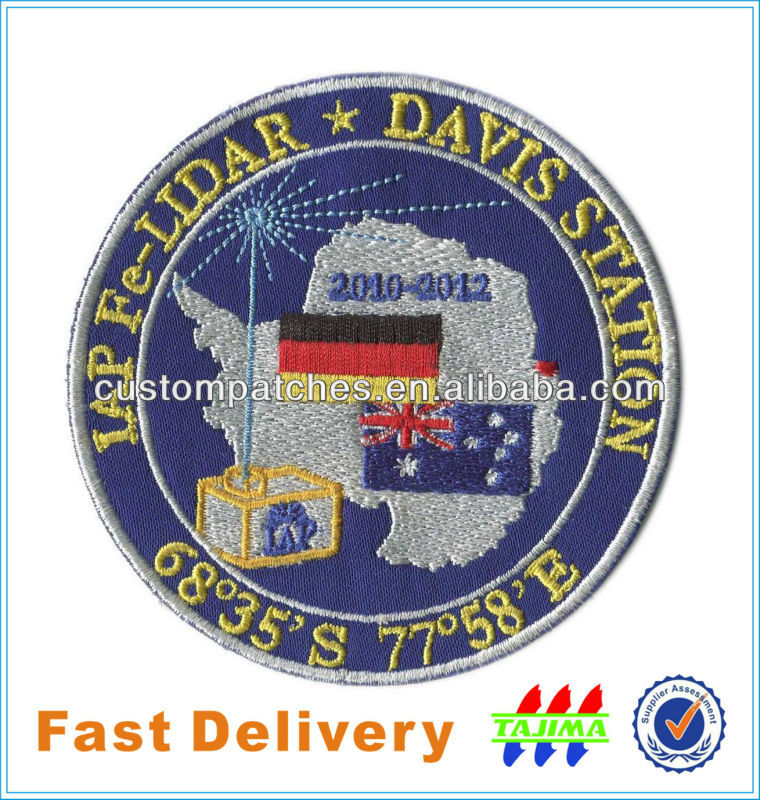 acoste Logo Embroidery Patches/Embroidered Patch