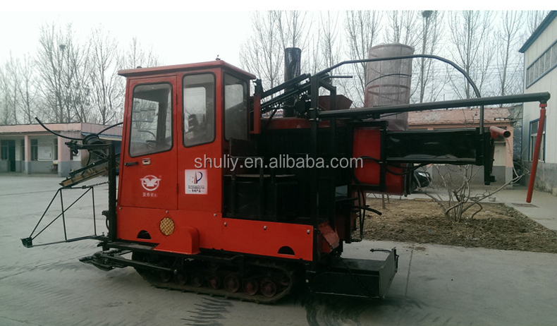 Shuliy March Exp lake reed sorghum harvester Jute havesting machine for sale