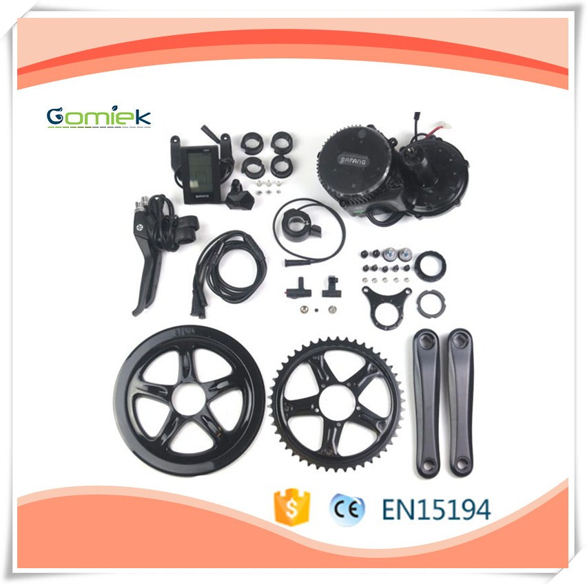 Electric Bike Kit Bafang 8fun Motor BBS01 36V 250w Crank Mid Drive Motor Conversion Kit