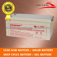 storage battery for ups 12V 200Ah, rechargeable battery