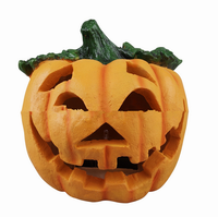 Holiday decoration lighting solar pumpkin light solar garden light for Halloween